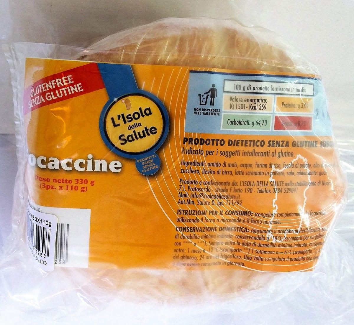 focaccine